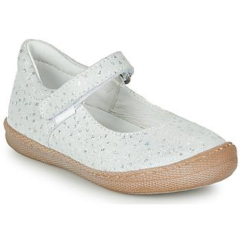 Shoes Girl Ballerinas Primigi BIANCA White / Iris