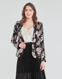 material Women Jackets / Blazers Ikks BS40045-02 Black