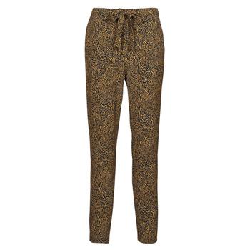material Women Wide leg / Harem trousers Ikks BS22085-75 Brown