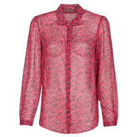 material Women Shirts Ikks BS12155-38 Raspberry