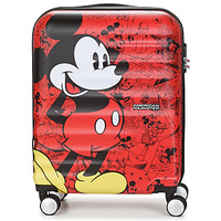 Bags Hard Suitcases American Tourister WAVEBREAKER 55 CM Red