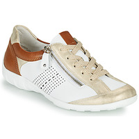 Shoes Women Low top trainers Remonte Dorndorf BIANCA White / Brown