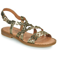 Shoes Women Sandals Remonte Dorndorf JULLIA Gold