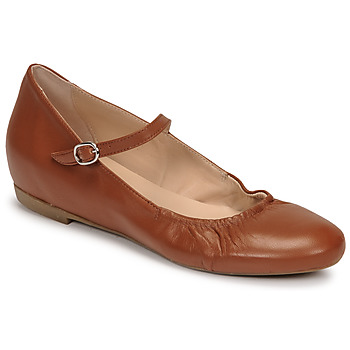 Shoes Women Ballerinas Casual Attitude OLIVIA Camel