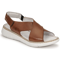 Shoes Women Sandals Casual Attitude ODILE Camel