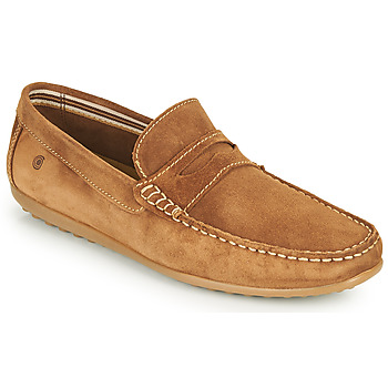 Shoes Men Loafers Casual Attitude IMOPO Camel