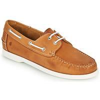 Shoes Men Boat shoes Casual Attitude REVORO Camel