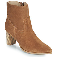 Shoes Women Ankle boots Casual Attitude OCETTE Camel