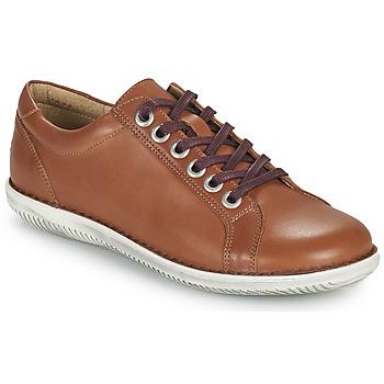 Shoes Women Derby shoes Casual Attitude OULETTE Camel