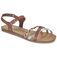 Shoes Women Sandals Casual Attitude ODIA Camel / Gold