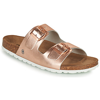 Shoes Women Mules Casual Attitude OXOA Pink / Gold