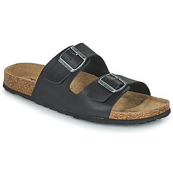 Shoes Men Mules Casual Attitude OMAO Black