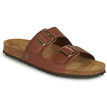 Shoes Men Mules Casual Attitude OMAO Brown