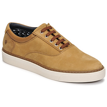 Shoes Men Low top trainers Casual Attitude OLAFF Camel