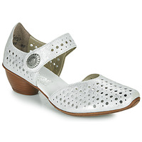 Shoes Women Court shoes Rieker NOLLA Silver