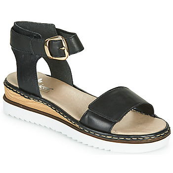 Shoes Women Sandals Rieker PHILA Black