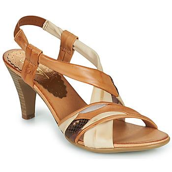 Shoes Women Sandals Betty London POULOI Cognac