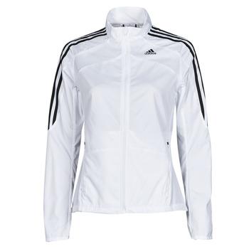 material Women Jackets adidas Performance MARATHON JKT W White