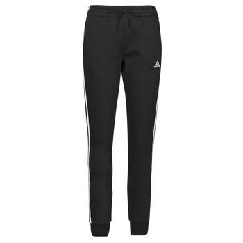 material Women Tracksuit bottoms adidas Performance W 3S FL C PT Black