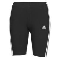 material Women leggings adidas Performance W 3S BK SHO Black