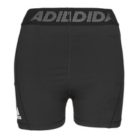 material Women Shorts / Bermudas adidas Performance TF SHRT 3 BAR T Black