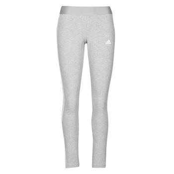 material Women leggings adidas Performance W 3S LEG Grey