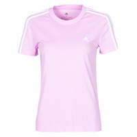 material Women short-sleeved t-shirts adidas Performance W 3S T Violet