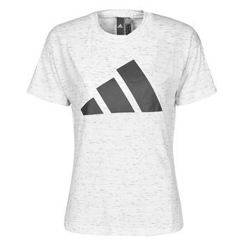material Women short-sleeved t-shirts adidas Performance W WIN 2.0 TEE White