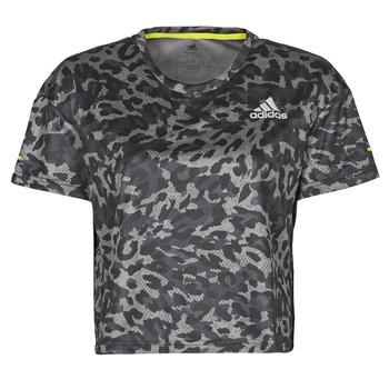 material Women short-sleeved t-shirts adidas Performance P.BLUE TEE Grey