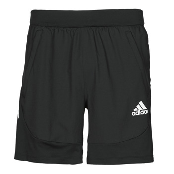 material Men Shorts / Bermudas adidas Performance AERO3S SHORT PB Black