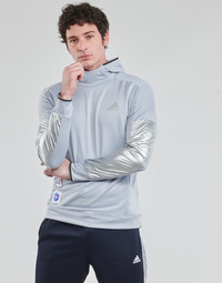 material Men sweaters adidas Performance SPACE HOODIE M Silver