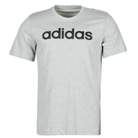 material Men short-sleeved t-shirts adidas Performance E LIN TEE Grey