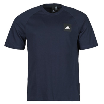 material Men short-sleeved t-shirts adidas Performance MHE Tee STA Blue