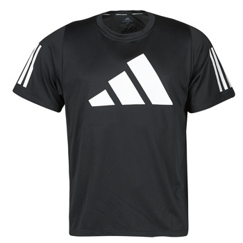 material Men short-sleeved t-shirts adidas Performance FL 3 BAR TEE Black