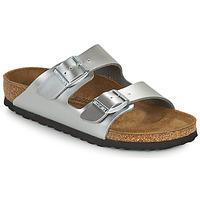 Shoes Girl Mules Birkenstock ARIZONA Silver
