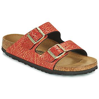Shoes Women Mules Birkenstock ARIZONA Red