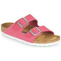 Shoes Women Mules Birkenstock ARIZONA SFB Pink