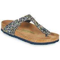 Shoes Women Flip flops Birkenstock GIZEH Blue