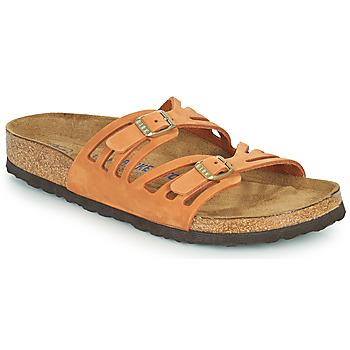 Shoes Women Mules Birkenstock GRANADA SFB Orange