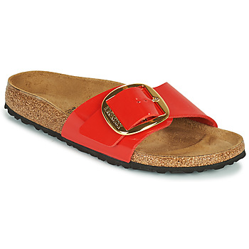 Shoes Women Mules Birkenstock MADRID BIG BUCKLE Red