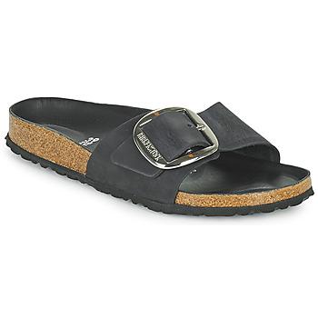 Shoes Women Mules Birkenstock MADRID BIG BUCKLE Black