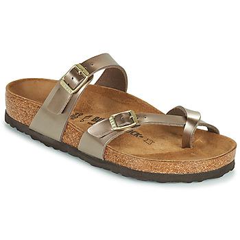Shoes Women Mules Birkenstock MAYARI Gold