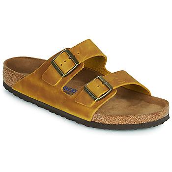Shoes Men Mules Birkenstock ARIZONA SFB Yellow
