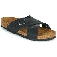 Shoes Men Mules Birkenstock LUGANO Black