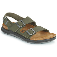 Shoes Men Sandals Birkenstock MILANO CT Kaki