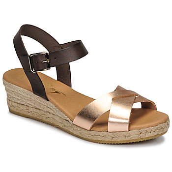 Shoes Women Sandals Betty London GIORGIA Brown / Nude