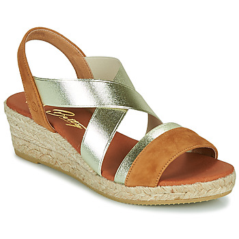 Shoes Women Sandals Betty London OLINDRE Cognac