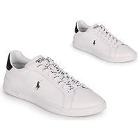 Shoes Men Low top trainers Polo Ralph Lauren HRT CT II-SNEAKERS-ATHLETIC SHOE White / Black