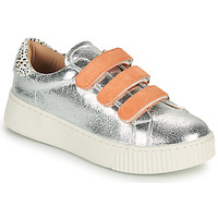 Shoes Women Low top trainers Vanessa Wu BK2260AG Silver / Orange