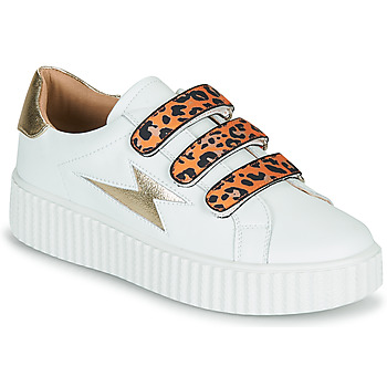 Shoes Women Low top trainers Vanessa Wu BK2239OG White / Leopard